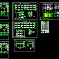 三层框架结构办公楼建筑设计图