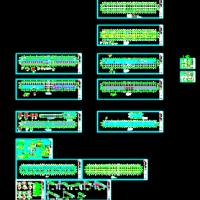 框架结构体育场看台结构图(预应力高强混凝土管桩)