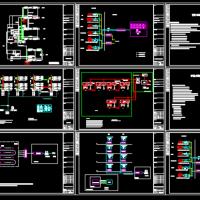 小区安防系统图原理图