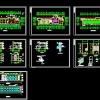 工厂两层办公楼建筑图
