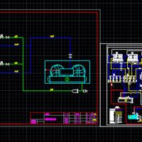 小型氟制冷系统原理图