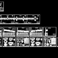 某市政电气工程电力管沟施工图纸