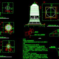 古塔防雷接地系统施工图
