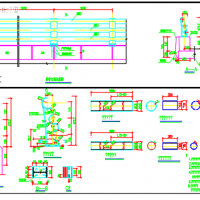 多管式防撞护栏构造图