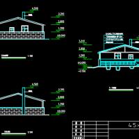钢结构猪圈建筑方案图