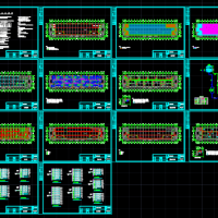 通讯设备公司十万级洁净车间空调电气设计图纸