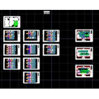 电池厂丙类无尘车间设计施工图