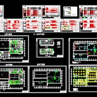 洁净制剂车间厂房电气施工设计图纸