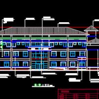某三层办公用房建筑及结构全套图