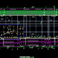 深基坑重力式水泥土墙支护施工图