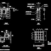 太阳能路灯基础及普通路灯基础CAD详图
