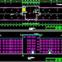 8798平米五层框架结构结核病医院建结水电暖全套图