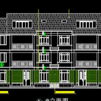 23.6X12双拼三层自建别墅建筑及结构全套图