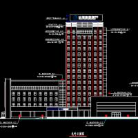 某银行大楼亮化CAD工程