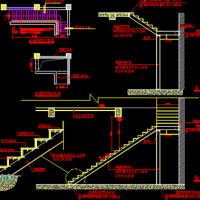 L形钢结构楼梯设计