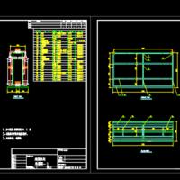 30T/h超滤膜组件装配图纸