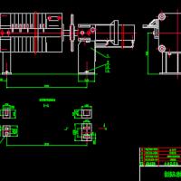 板框压滤机装置CAD图