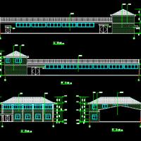 钢结构养猪场建筑及结构设计施工图