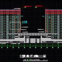 国际广场夜景照明电气施工图