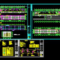 学校操场看台电气设计施工图