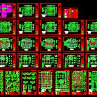 13层框剪结构公寓楼结构施工图(钻孔灌注桩)