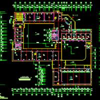 小学教学楼建筑方案图(带风雨操场)