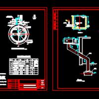 二沉池与集水池设计图