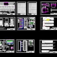 袋式除尘系统CAD图纸
