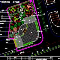 广场景观规划设计图