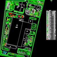 厂区景观绿化设计图纸