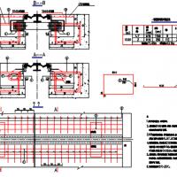 桥梁工程D160型伸缩缝构造图