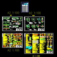 地磅房结构施工图