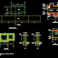 工厂电子汽车衡设计结构图