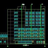十层中西医结合医院住院楼建筑及结构全套施工图