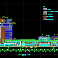 60090平米成都中西医结合医院建筑图