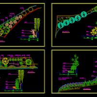 某游园绿化设计CAD图