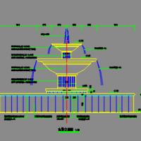 水景喷泉CAD详图