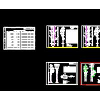 10kV杆上变压器杆塔设备图