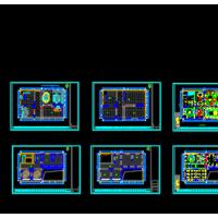 窗帘店CAD装修设计图