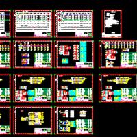 数据中心低压配电系统CAD图