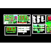 轻型门式刚架(带夹层)结构设计图
