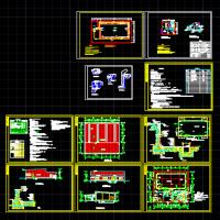某游泳池建筑及水专业施工图