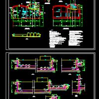 室外游泳池结构设计图