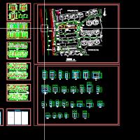 扬州某建筑施工图及各大样图