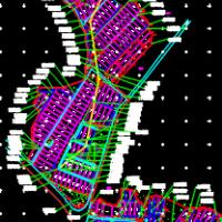 食用菌钢架大棚建筑结构电气施工图