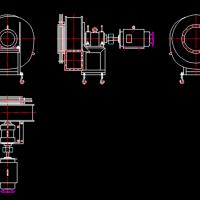 多种风机CAD图