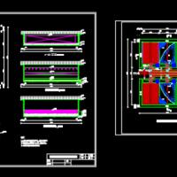 给水厂工艺课程设计图