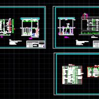 污水处理提升泵房CAD施工图