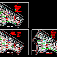 住宅小区室外弱电系统设计图