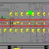 城市道路路灯设计总平面图及详图2017年
